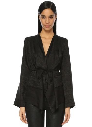 İro Ceket Siyah